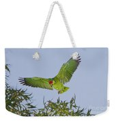 Red-crowned Parrot Weekender Tote Bag