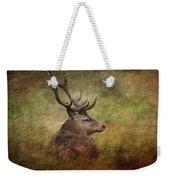 Red Deer  Cervus Elaphus Weekender Tote Bag