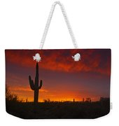 Red Desert Skies  Weekender Tote Bag