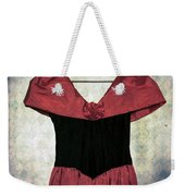Red Dress Weekender Tote Bag