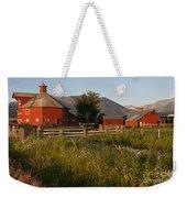 Red Farm Weekender Tote Bag