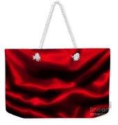 Red Folded Satin Background Weekender Tote Bag