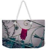 Red Glove Weekender Tote Bag by Joana Kruse