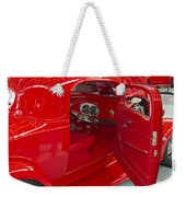 Red On Red Weekender Tote Bag
