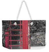 Red Phone Box Weekender Tote Bag