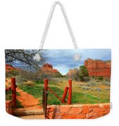 Enter Red Rock Country Weekender Tote Bag