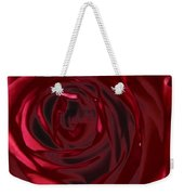 Red Rose Abstract 2 Weekender Tote Bag