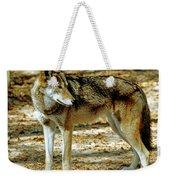 Red Wolf Weekender Tote Bag