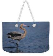 Reddish Egret Wading Texas Weekender Tote Bag