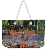 Reflecting Fall Weekender Tote Bag
