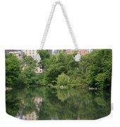 Reflections In The Pool Weekender Tote Bag