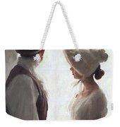 Regency Period Couple At The Window Weekender Tote Bag