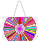 Colorful Signature Art Chakra Round Mandala By Navinjoshi At Fineartamerica.com Rare Fineart Images  Weekender Tote Bag by Navin Joshi