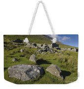 Remains Of Slievemore Village Weekender Tote Bag