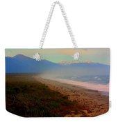 Remote New Zealand Beach Weekender Tote Bag
