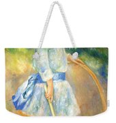 Renoir's Girl With A Hoop Weekender Tote Bag
