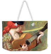Renoir's Young Spanish Woman With A Guitar Weekender Tote Bag