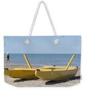 Rescue Boat Weekender Tote Bag