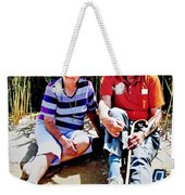 Rest Stop At Coorong Weekender Tote Bag