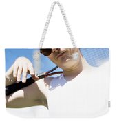 Retro Tennis 1970 Weekender Tote Bag