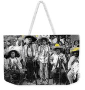 Revolutionary Soldiers Unknown  Mexico Location 1914-2014 Weekender Tote Bag