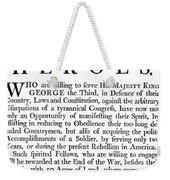 Revolutionary War Poster Weekender Tote Bag