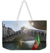 Rialto Bridge Weekender Tote Bag