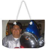 Ricardo Celebrating His High School Graduation Eloy Arizona 2002 Weekender Tote Bag