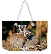 Ring Tailed Lemur Weekender Tote Bag