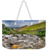 River San Juan  Weekender Tote Bag by Guido Montanes Castillo