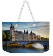 River Seine And Conciergerie Weekender Tote Bag