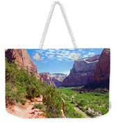 River Through Zion Weekender Tote Bag