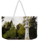 Roath Park Lighthouse Weekender Tote Bag