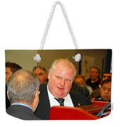 Rob Ford Weekender Tote Bag
