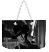 Robert Mitchum Conferring With Director Burt Kennedy Young Billy Young Old Tucson 1968 Weekender Tote Bag
