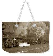 Steam Pumper Rochester Show Case Co. Fire Circa 1890s Weekender Tote Bag