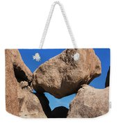 Rock Formation - Joshua Tree National Park Weekender Tote Bag