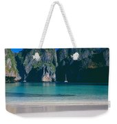 Rock Formations In The Sea, Phi Phi Weekender Tote Bag