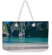 Rock Formations In The Sea, Phi Phi Weekender Tote Bag