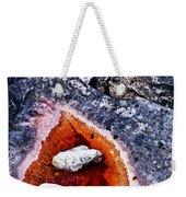 Rocks At Georgian Bay Weekender Tote Bag by Elena Elisseeva