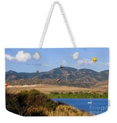 Rocky Mountain Balloon Festival Weekender Tote Bag