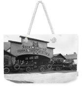 Rocky Mountain Touring Cars Weekender Tote Bag