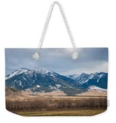 Rocky Mountains In Montana Weekender Tote Bag