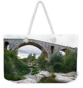 Roman Arch Bridge Pont St. Julien Weekender Tote Bag