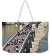 Roman Bridge In Cordoba Weekender Tote Bag
