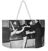 Romanian Princess Irene Bogdan Weekender Tote Bag by Underwood Archives