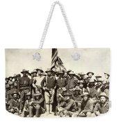 Roosevelt & Rough Riders Weekender Tote Bag