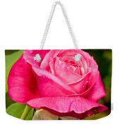 Rose Flower Weekender Tote Bag