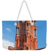 Rotes Rathaus The Town Hall Of Berlin Germany Weekender Tote Bag