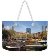 Rotterdam Cityscape In Netherlands Weekender Tote Bag